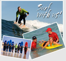 Surf with us!
