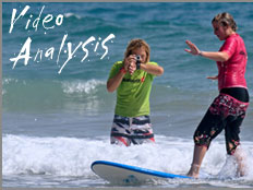 Quiksilver Surfschool - Video Analysis